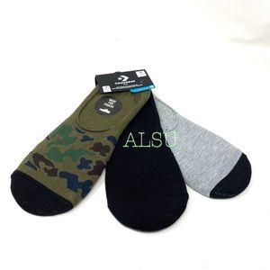 Converse 3-Pack Flat Basic MFC Men Sock Camo Black